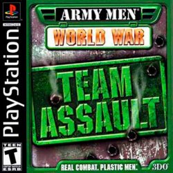 Army Men: World War Team Assault front cover