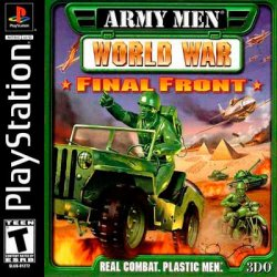Army Men: World War Final Front - front cover