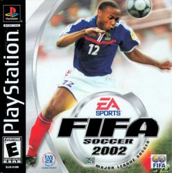 FIFA Soccer 2002 front cover
