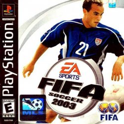FIFA Soccer 2003 front cover