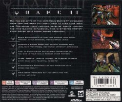 Quake 2 back cover