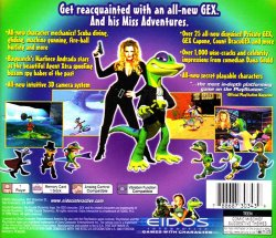 Gex 3: Deep Cover Gecko back cover