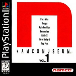 Namco Museum Vol. 1 front cover