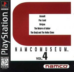 Namco Museum Vol. 4 front cover