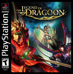 The Legend of Dragoon front cover
