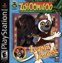 Zoboomafoo: Leapin' Lemurs! front cover