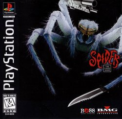 Spider: The Video Game front cover