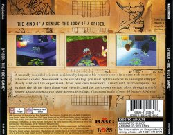 Spider: The Video Game back cover