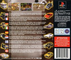 twisted metal back cover