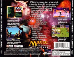 Magic - The Gathering - BattleMage back cover