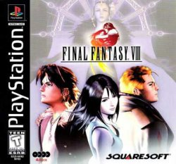 Final Fantasy 8 front cover