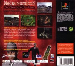 Necronomicon: The Dawning of Darkness back cover