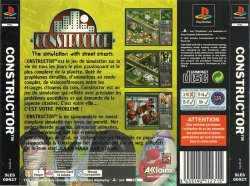 Constructor back cover