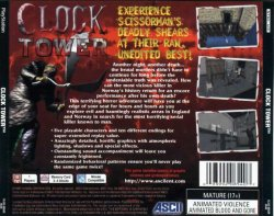 Clock Tower back cover