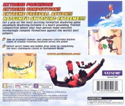 Skydiving Extreme back cover