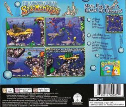 Amazing Virtual Sea-Monkeys back cover