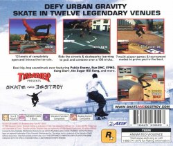 Thrasher: Skate and Destroy back cover