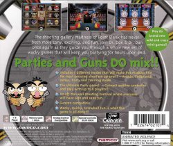 Point Blank 3 back cover