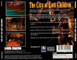 The City of Lost Children back cover