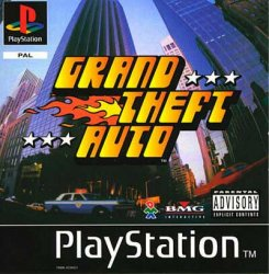 Grand Theft Auto front cover