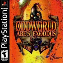 Oddworld: Abe's Exoddus front cover
