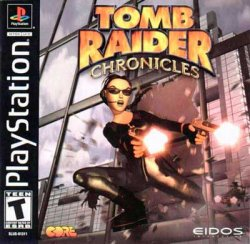 Tomb Raider 5: Chronicles front cover