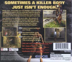 Tomb Raider back cover