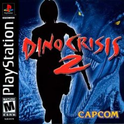 Dino Crisis 2 front cover