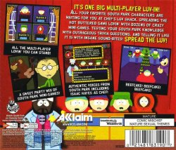 South Park: Chef's Luv Shack back cover