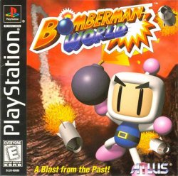 Bomberman World front cover
