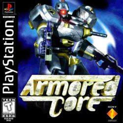 Armored Core front cover