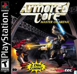 Armored Core: Master of Arena front cover