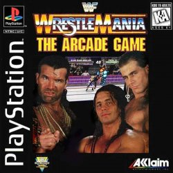 WWF WrestleMania: The Arcade game front cover