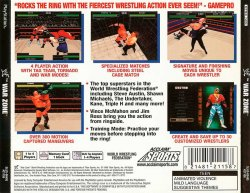 WWF War Zone back cover