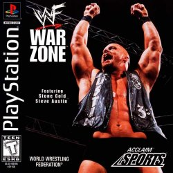 WWF War Zone front cover