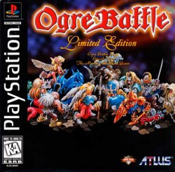 Ogre Battle front cover