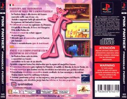 Pink Panther: Pinkadelic Pursuit back cover