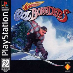 Cool Boarders front cover