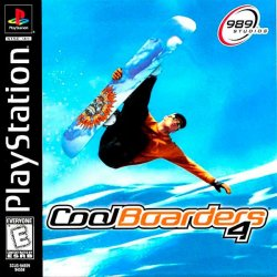 Cool Boarders 4 front cover