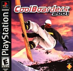 Cool Boarders 2001 front cover