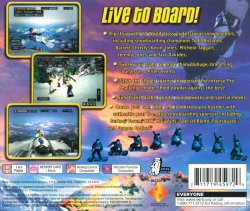 Cool Boarders 2001 back cover