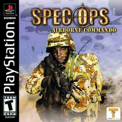 Spec Ops: Airborne Commando front cover