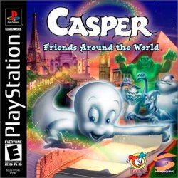 Casper: Friends Around The World front cover