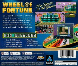 Wheel of Fortune black cover