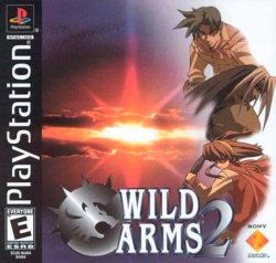 Wild Arms 2 front cover