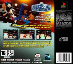 MTV Celebrity Deathmatch back cover