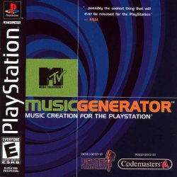 MTV Music Generator front cover