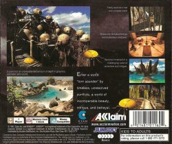 Riven: The Sequel to Myst back cover