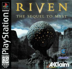 Riven: The Sequel to Myst front cover