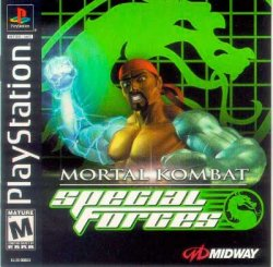 Mortal Kombat: Special Forces front cover